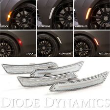 Diode Dynamics 2016-2017-2018 Chevrolet Camaro Sidemarker Amber Red LED - Clear