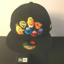 New Era Japan 59fifty Fitted 5950 Cap Hat Sesame Street 7 5/8