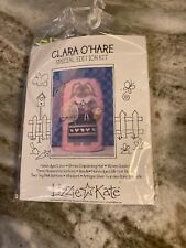 NOS Rare Clara O'Hare Special Edition Kit Lizzie Kate Cross Stitch New