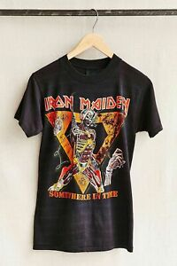 Vintage Iron Maiden Somewhere In Time T-Shirt