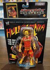 Hulk Hogan auto WWE 2002 Jakks Pacific Superstars Uncovered Action Figure MOC
