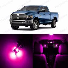 10 x Super Pink LED Interior Light Package For Dodge Ram 1500 2500 2002 - 2011