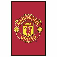 Official Product Manchester United Football Carpet Rug 50 X 80cm Red