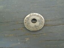 VINTAGE LUDWIG WFL CHICAGO USA LOGO WASHER NICKEL PLATED-VG!