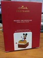 New Hallmark Mickey The Musician 2020 Keepsake Ornament