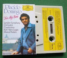 Placido Domingo Be My Love inc Granada & Amapola + LSO Cassette Tape - TESTED