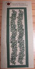 Blumenranken Dunkelgrün von Karen-Marie Klip Stanzteile für Scapbooking Lasercut