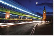 TRAVEL POSTER London Night