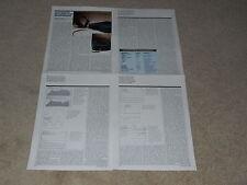 Stax Kogyo SR-Lambda Pro Headphones Review, 1991, 4 pages, Full Test