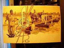 Postcard 192 4 ° Regiment Genius pontieri Reproduction From Original