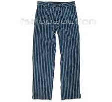 Oakley Fare Pants Blue Size 38 Mens Golf Casual Formal Dress Stripes Trousers