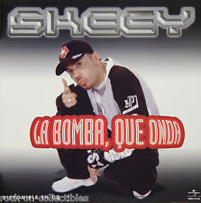 MC Skeey 2003 La Bomba, Que Onda Latin Rap Original 2-Sided Promo Flat