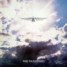 1980 Ford Thunderbird new vehicle brochure  - 1st print