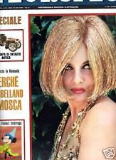 L'EUROPEO-ANNO 1966-N°24-ORIANA FALLACI WALT DISNEY