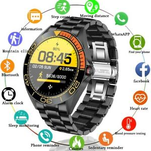 2021 New Smart Watch Mens Full Touch Screen Multifunctional Sports Heart Rate