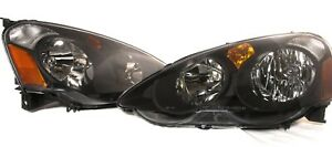 FOR 2002 2003 2004 Acura RSX Complete Direct Replacement Headlight Set - NEW