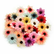 Fake flower heads Crafts Silk Sunflower Daisy Handmake Artificial Flower Head We