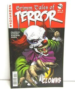 Zenescope Grimm Tales Of terror Clowns Comic #4 Vol 3 Cover A 2017