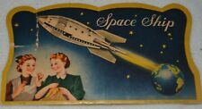 Vintage Space Ship Needle Book