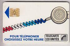 VARIETE TELECARTE CORDON BLANC .. 120U Ko59 SC4OB R° CART.COUPEE IMP811113 C.?€