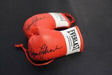 Mini guantes de boxeo Ingemar Johanson Autografiada