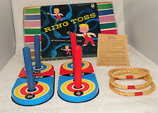Vintage Pressman #1186 Metal Ring Toss Game