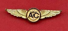 US Navy and Marine Corps USMC Aircrew Wings Badge A/C with gold finish