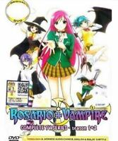 DVD Anime Rosario + Vampire TV Series Season 1+2 (1-26 End) English Dub