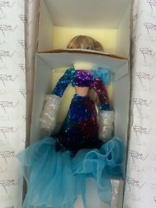 """Rustie and Donna Rubert Doll 19"""" Porcelain Elegant Doll with COA NIB"""