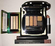 MAC Lot Stroke of Midnight Warm 5 Eye, Warm Wash, Lipstick, Nail Lacquer  NIB