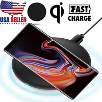 For Samsung Galaxy Note 9 8 S9 Plus Wireless Fast Charger Qi Charging Stand Pad
