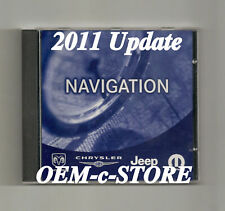 04 to 07 Chrysler Town Country 300 Aspen Pacifica Navigation DVD Map 2011 Update