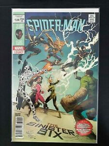 SPIDER-MAN #234E  MARVEL COMICS 2018 NM NEWSSTAND BAGLEY VARIANT COVER