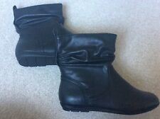 Black ladies ankle boots size 4/37