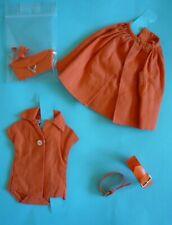 Barbie vintage orange coordonate pack