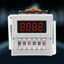 AC/DC 24-240V Digital Cycle Time Timer Switch Delay Relay 0.1s-99h ZYS48-S HighQ