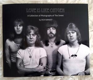 THE SWEET Buch Bildband rar Love Is Like Oxygen Dick Barnatt limitiert Connolly