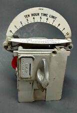 Duncan Coin Operated Parking Meter 10-hour Timer Quarters Only Vintage Metal