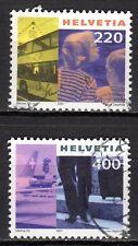Switzerland - 2001 Definitives tourism -  Mi. 1751-52 VFU