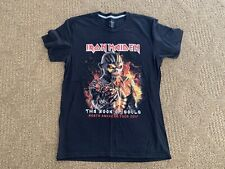 Iron Maiden Book Of Souls 2017 World Tour T Shirt North American 🔥Brooklyn Ny