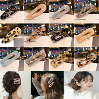 Women Leopard Hair Clip Bobby Pin Hairband Hairpin Barrette Comb Accessory Gift