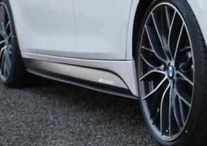 Genuine BMW M Performance Set Sill Attachment Matt Black NEW!