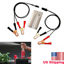 Auto Car Fuel Injector Flush Cleaner Adapter DIY Kit Vehicle Tool Set Universal