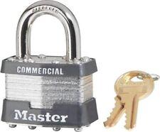 New Case (6) Master Lock 1Ka 2001 #1 Keyed Alike Steel 4 Pin Pad Locks 6104616