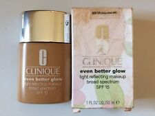 Clinique Even Better Glow SPF 15 WN 54 Honey Wheat NEW With Box 1 fl oz/30 ml