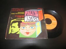 """PALITO ORTEGA - RAGAZZA DAGLI OCCHI D'ORO / UN RAGAZZO COME ME  RCA N 1612 LP 7"""""""