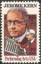 USA 1985 Jerome Kern/Music/Composer/Musician/Art/Musical Score/People 1v n44831