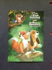 DISNEY'S 3-D LENTICULAR COLLECTOR CARD THE FOX AND THE HOUND