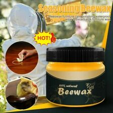 Wood Seasoning Beewax Complete Solution Furniture Care Beeswax 100% Nature HOT