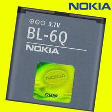 ORIGINAL NOKIA BL-6Q AKKU -- Nokia 6700 Classic -- Nokia 7900 Classic -- 970mAh